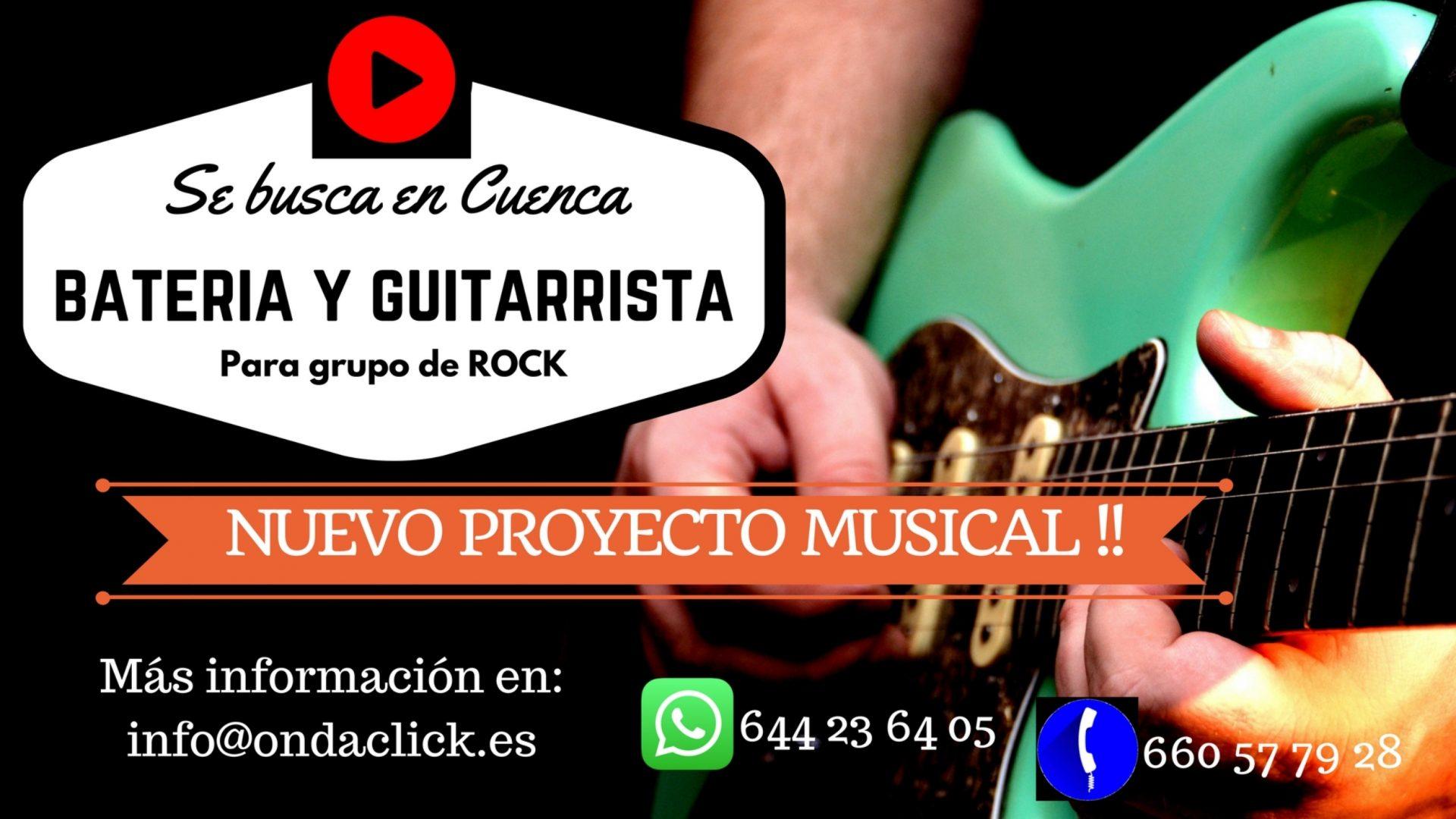 Permalink to: SE BUSCA BATERÍA Y GUITARRA PARA GRUPO DE ROCK EN CUENCA
